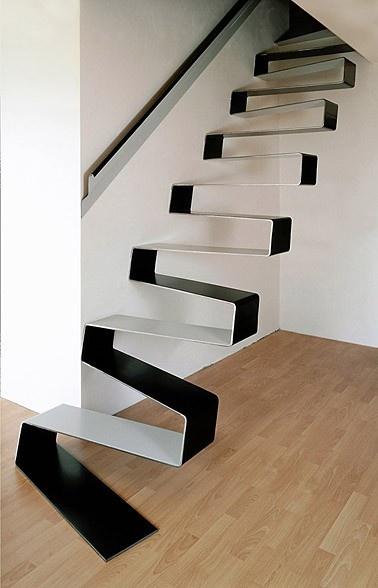 stahltreppen interior inspiration von innen. Black Bedroom Furniture Sets. Home Design Ideas