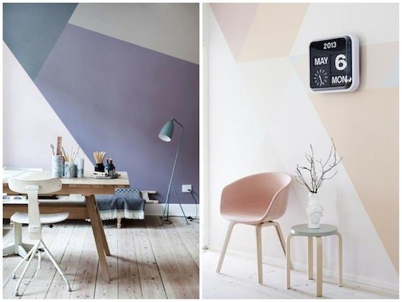 Farbige Wände mit viel Präzision, frenchbydesign, papernstitch