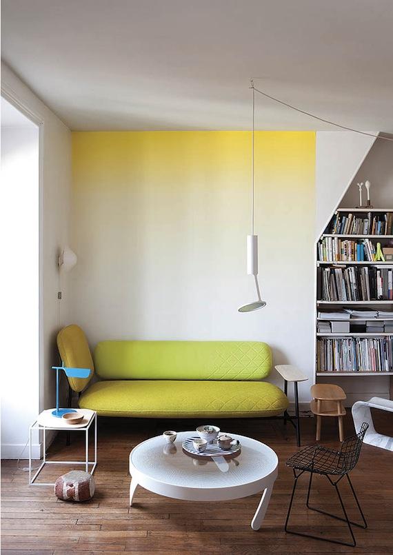 Wohnzimmer wandgestaltung mit farbe ombre wand streichen 2014 12 15 - Wandgestaltung mit farbe wohnzimmer ...