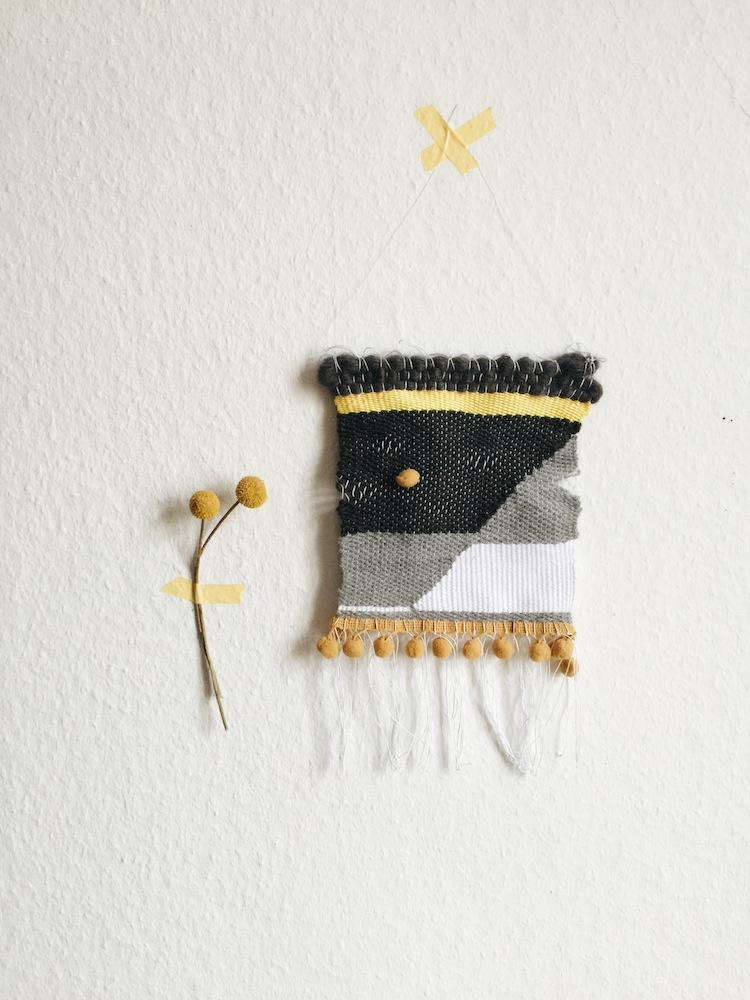 My Monthly DIY - Weaving 2