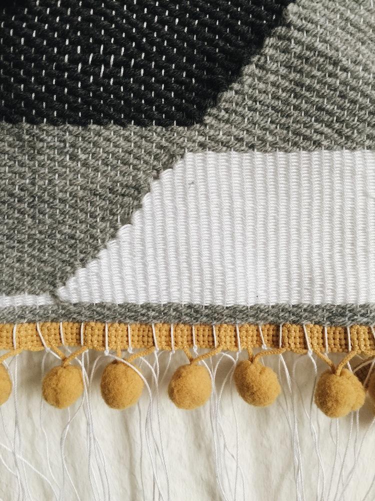 My Monthly DIY - Weaving 3