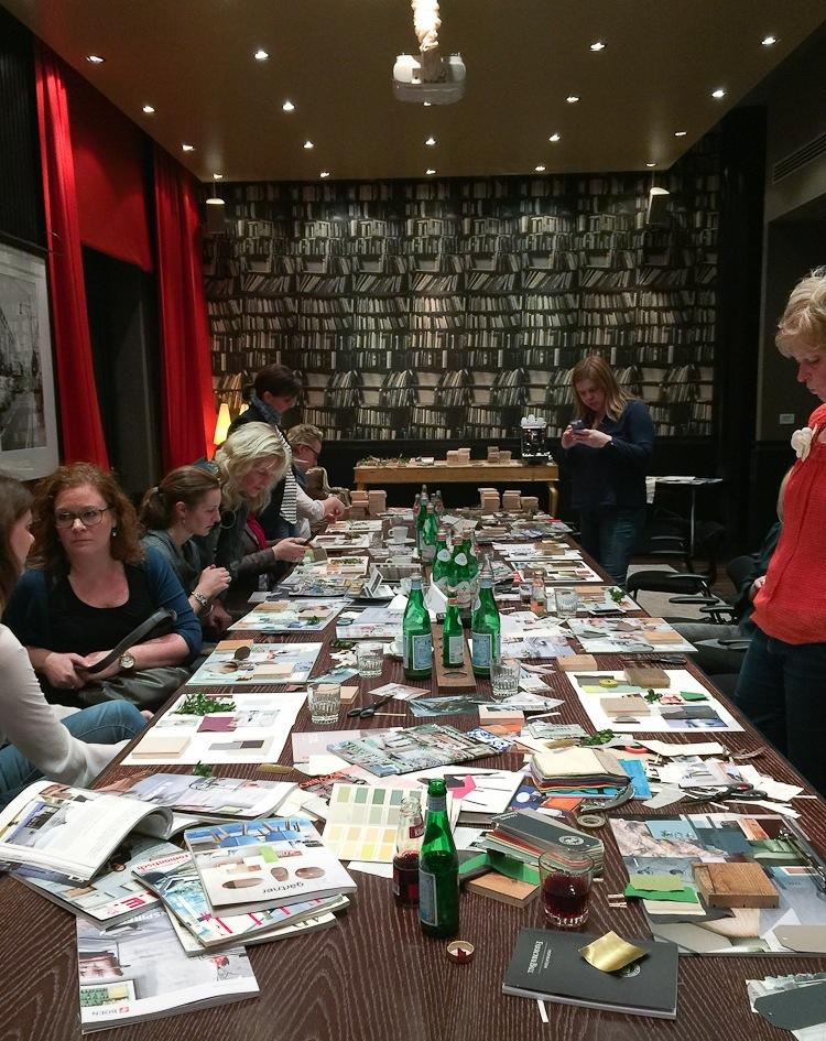 Moodboard Workshop mit Gudy Herder für Boen. hamburgvoninnen.de