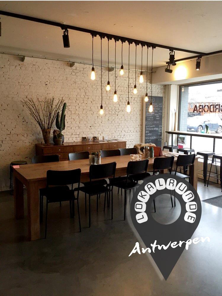 Antwerpen – Lokalrunde mit Ivana