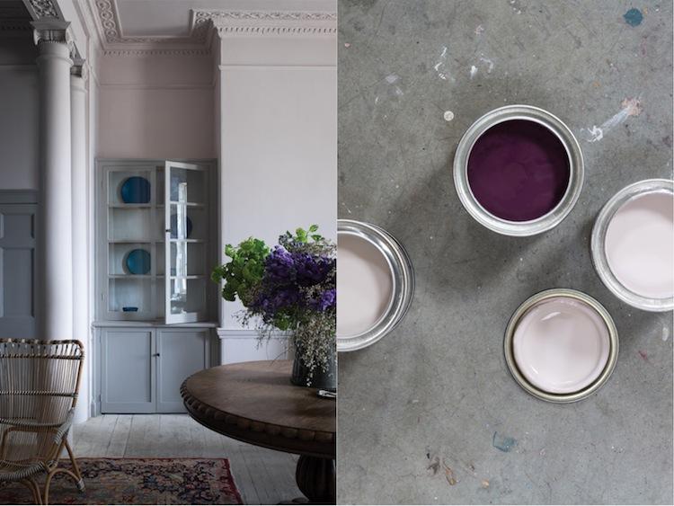 die neuen Farben von Farrow & Ball: Peignoir No. 286