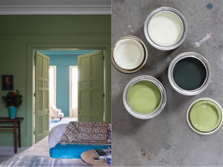 die neuen Farben von Farrow & Ball: Yeabridge Green No. 287