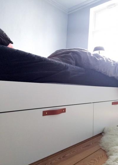 Ledergriffe für Ikea Brimnes Bett, hamburgvoninnen.de