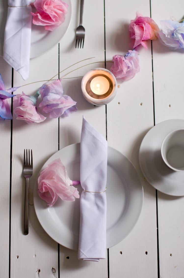 DIY Papierblumen_Serviettenring 4