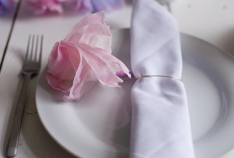 DIY Papierblumen_Serviettenring 6