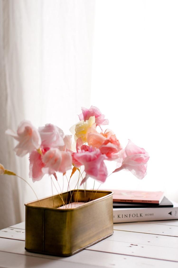 DIY Papierblumen_Tischdeko 4