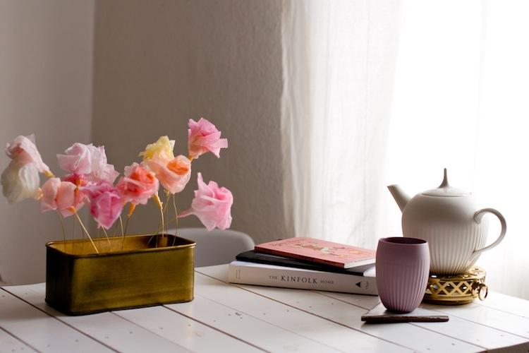 DIY Papierblumen_Tischdeko 5