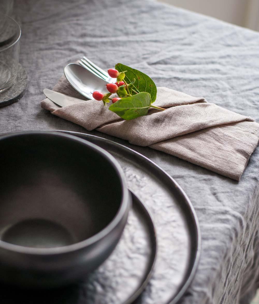 Serviettenfalten – mein Favorit für eine harmonische Tischdeko