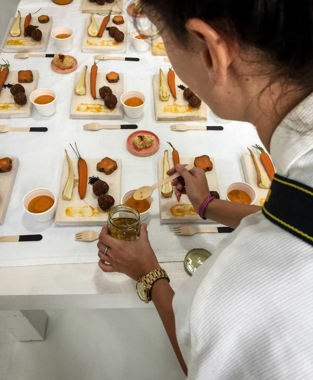 "Elsa Yranzo concept food ""Tierra"""
