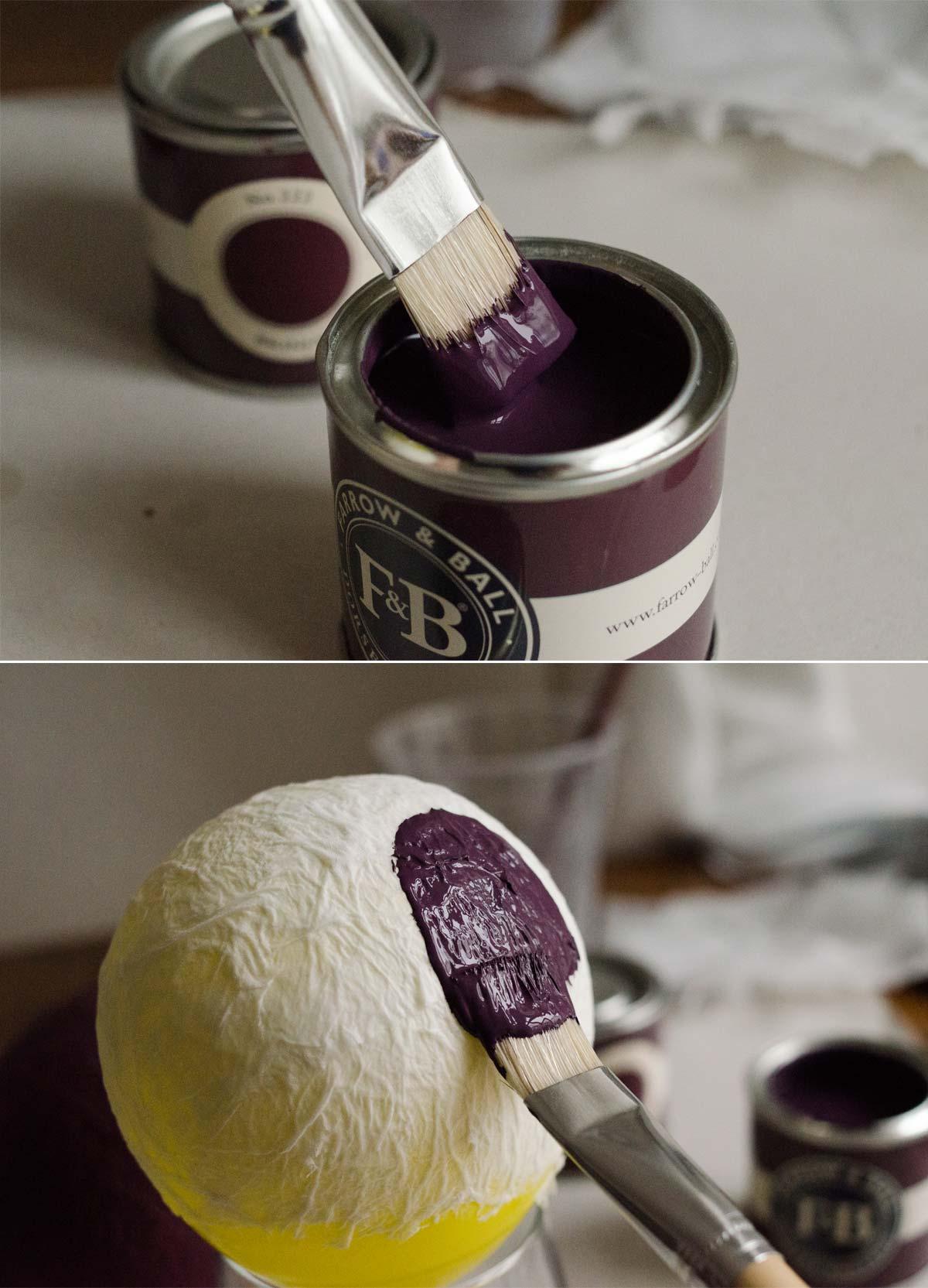 Valentinstag DIY: Teelichthalter aus Papiermaché. #TempoKreativwerkstatt