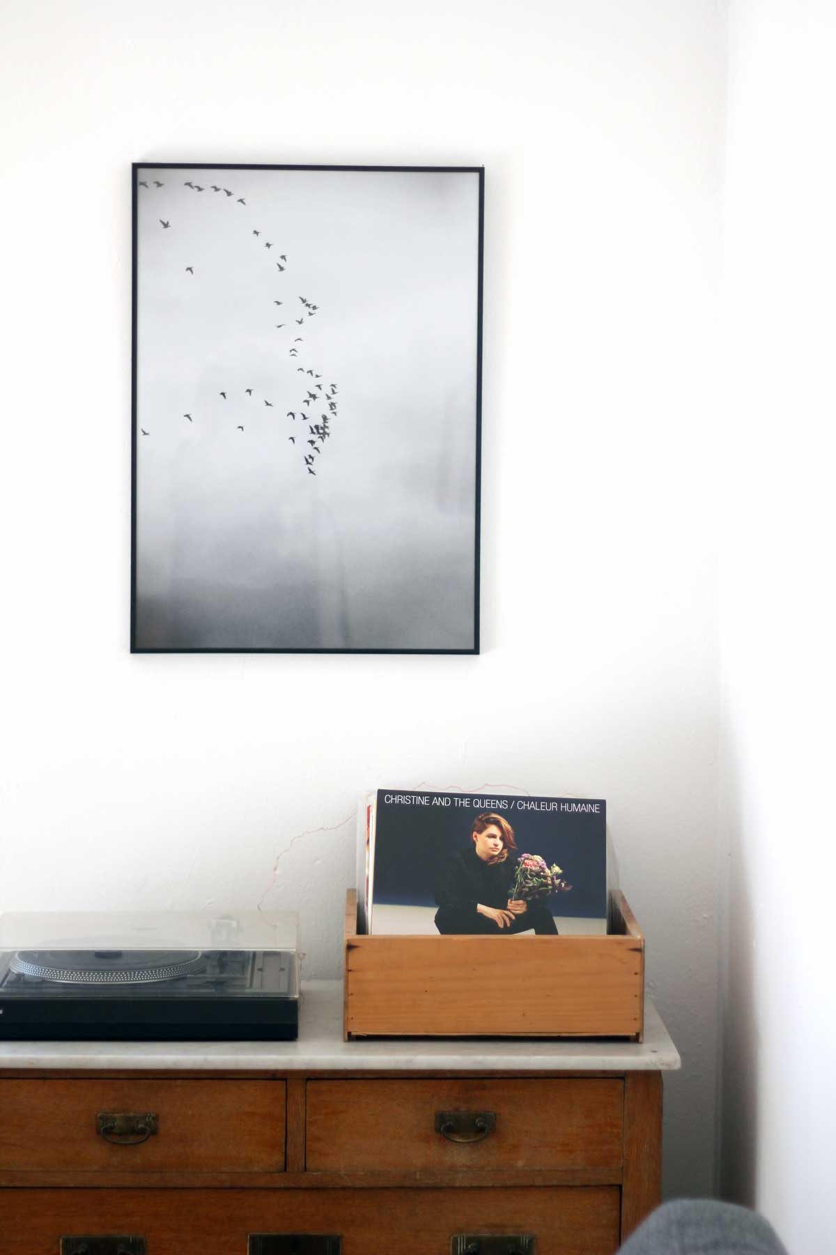 Truhe mit Schallplatten, Lieblingsecke von Ines aus Ottensen, hamburg von innen