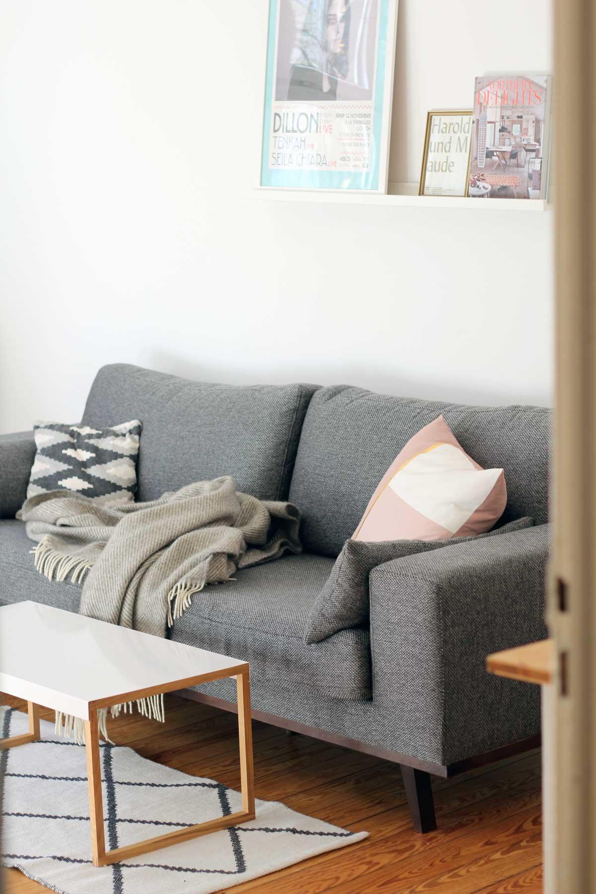 Sofa, Lieblingsecke von Ines aus Ottensen, hamburg von innen