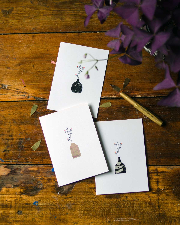 Papeterie: handgemachte Karten von Diana Laube, hamburgvoninnen.de