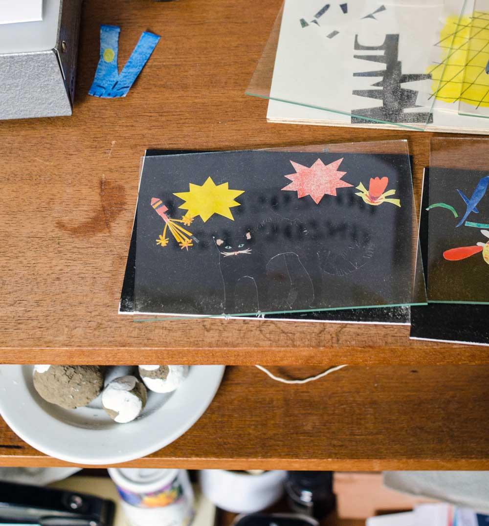 Katzencollage, Diana Laube, Illustration. hamburgvoninnen.de