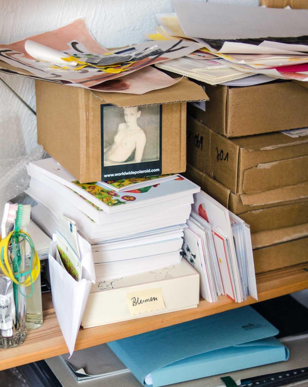 Materialregal, Atelier Diana Laube, hamburgvoninnen.de