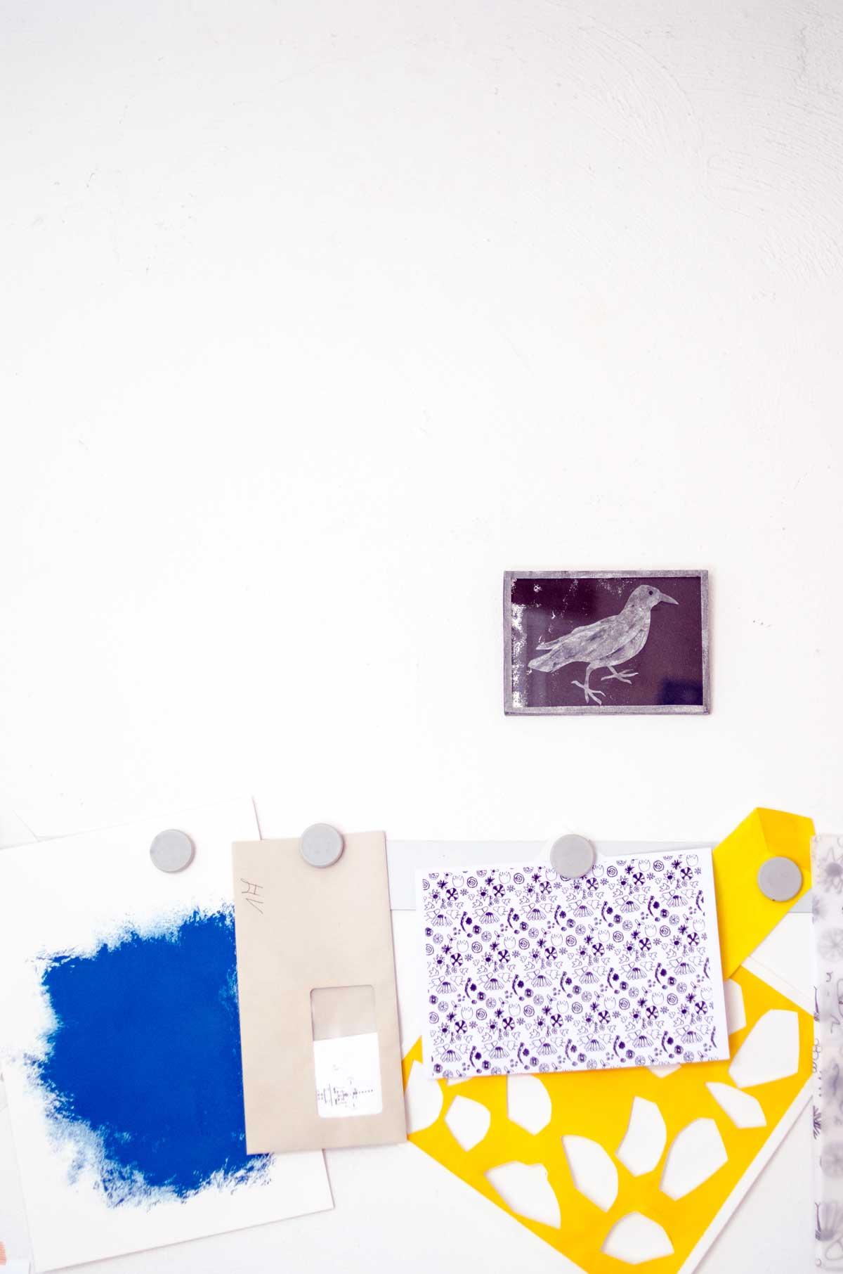 Vogel, Illustration Diana Laube, hamburgvoninnen.de