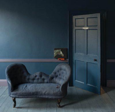 Ton-in-Ton Styling, Stiffkey Blue von Farrow&Ball, ©Farrow&Ball, hamburgvoninnen.de