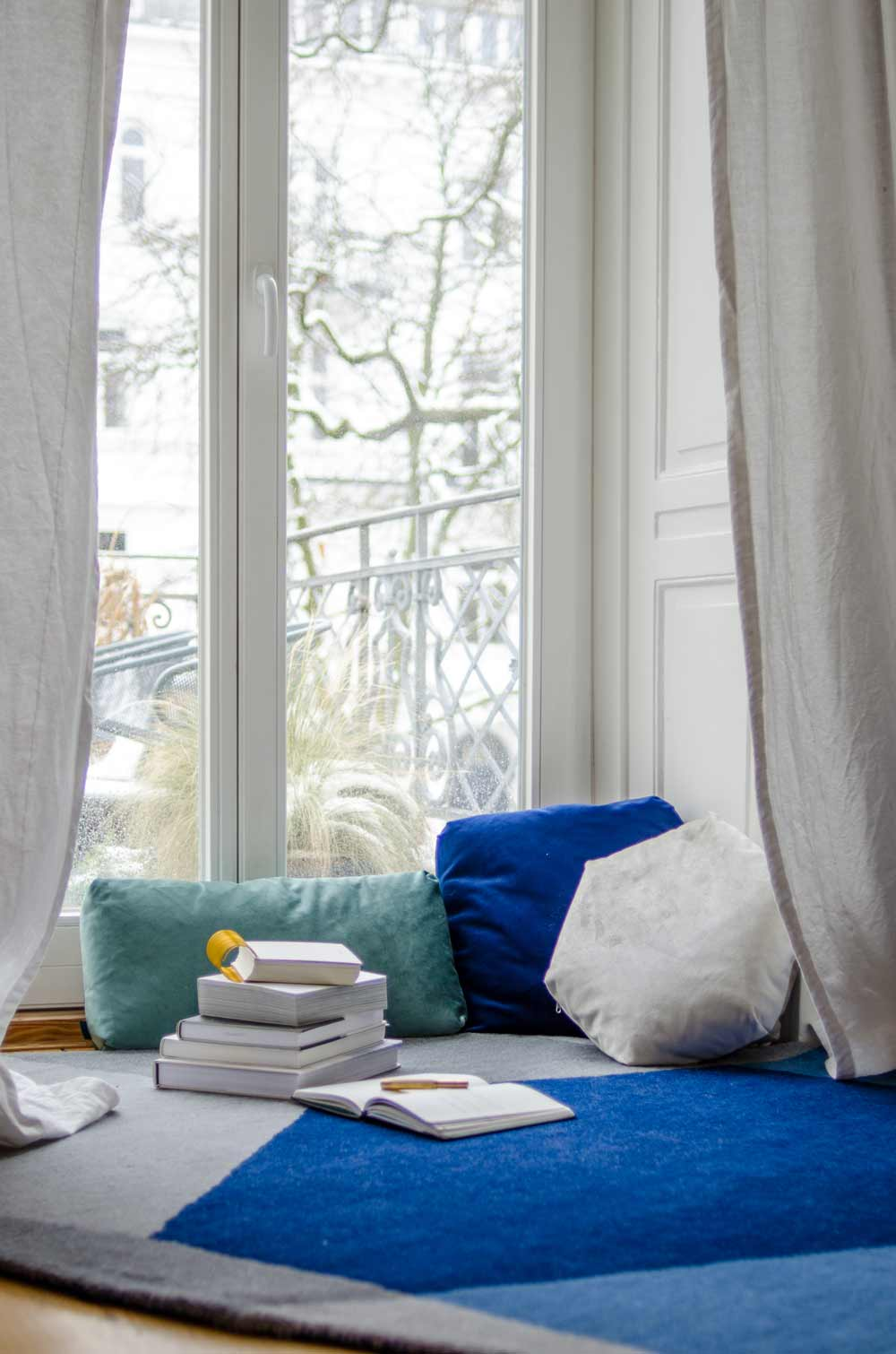 Lounge Lese-Ecke, hamburgvoninnen.de, PUIK Iso rug & Plus cushions