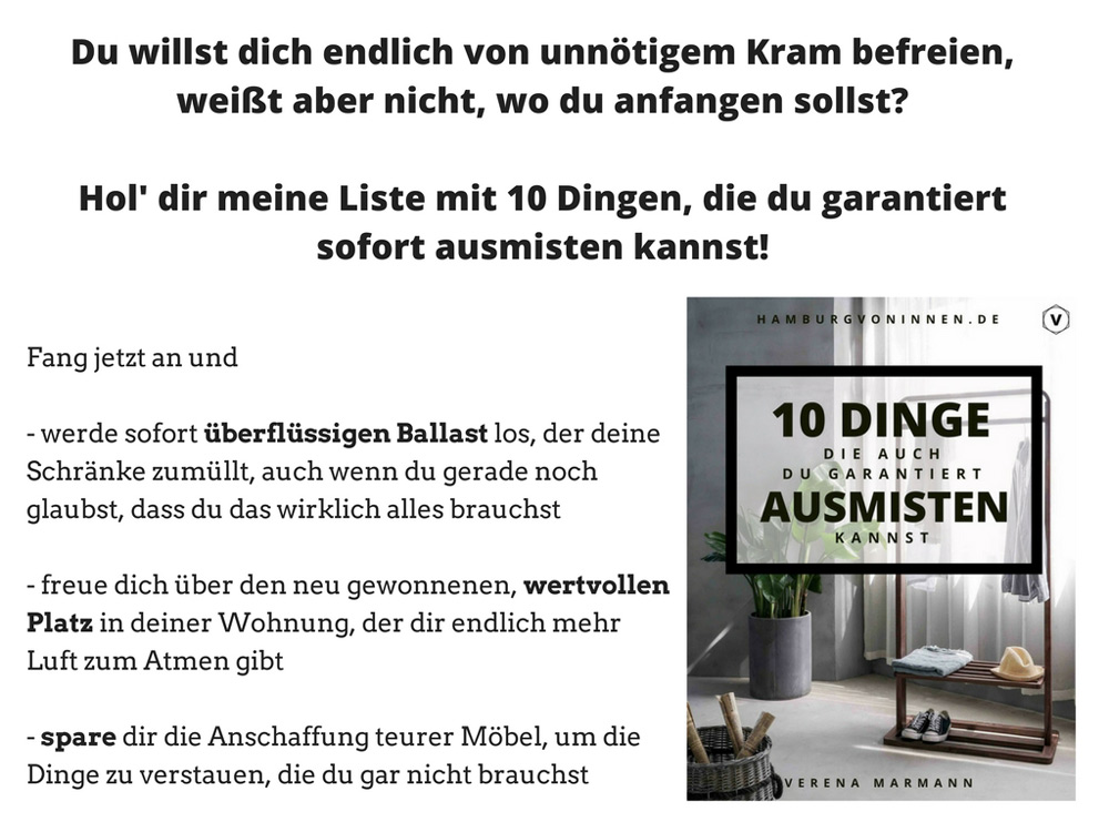 ebook ausmisten, hamburgvoninnen.de