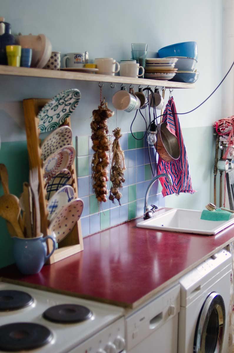 farbenfrohe Küche, Charlotte Crome, hamburgvoninnen.de