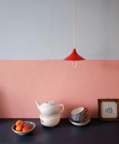 hamburg von innen, Wandgestaltung mit Farbe, Charlotte Crome wandfirma, farbenfrohe Küche