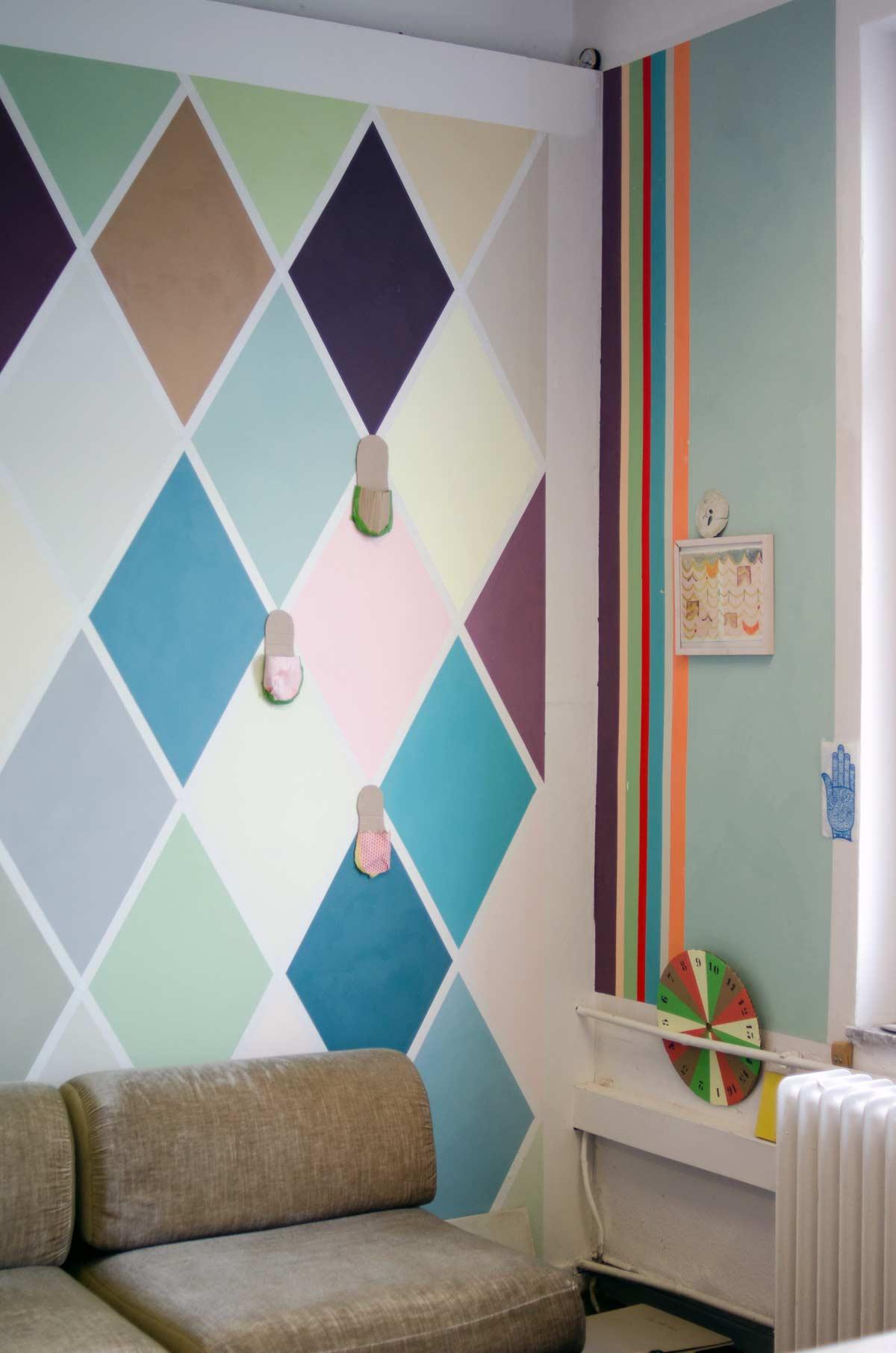 wandfirma.de, Charlotte Crome, hamburgvoninnen, Wandgestaltung mit Farbe