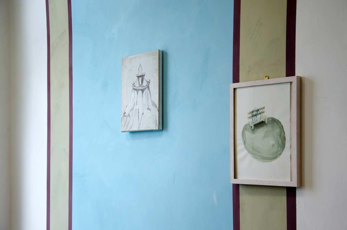 Wandgestaltung mit Farbe, Atelier von Charlotte Crome, hamburgvoninnen.de