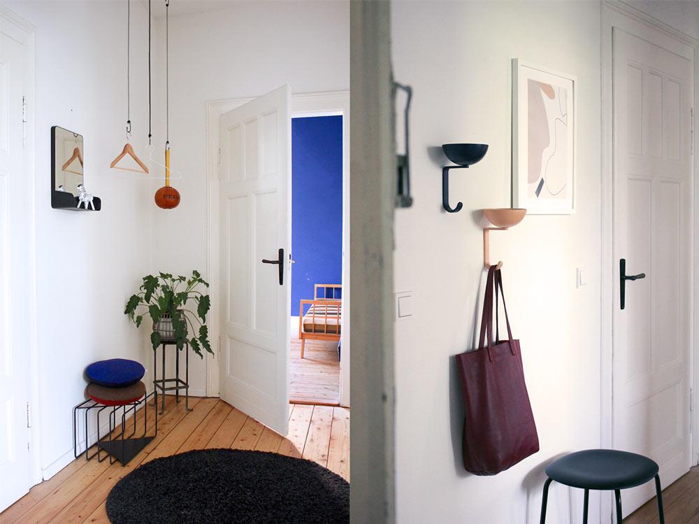 Wohnungsumgestaltung Flur Einblicke, Designapartments Weimar