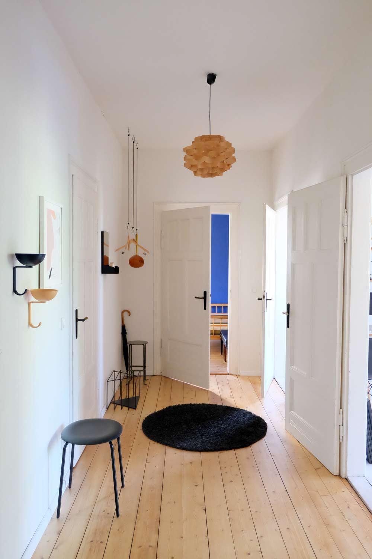Wohnungsumstyling Flur, Designapartments Weimar
