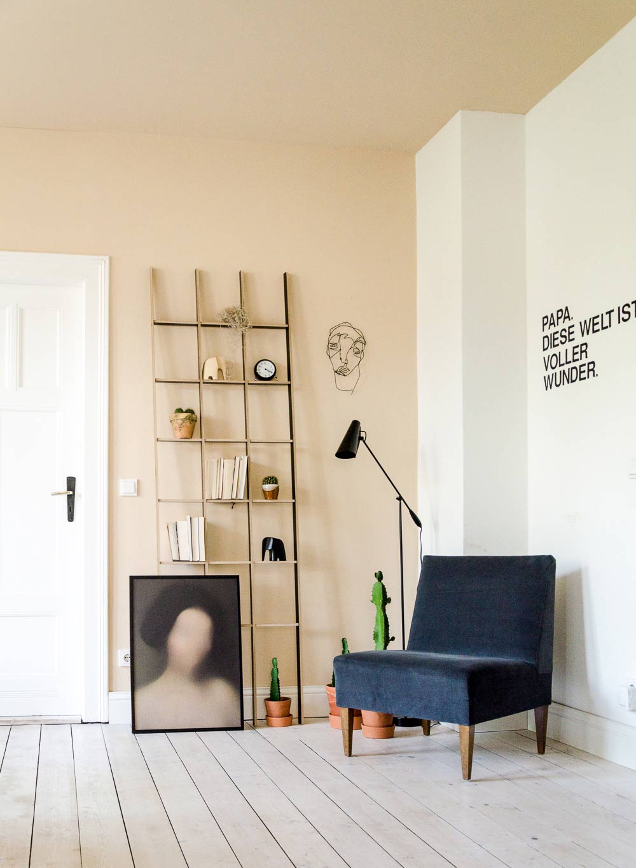 Leseecke Wohnungsumstyling, Weimar instadttreffen