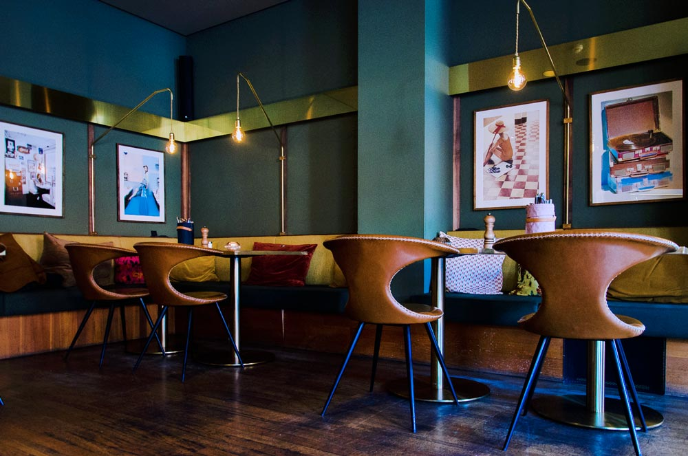 "Retro Interior Inspiration in der ""speisebar"""